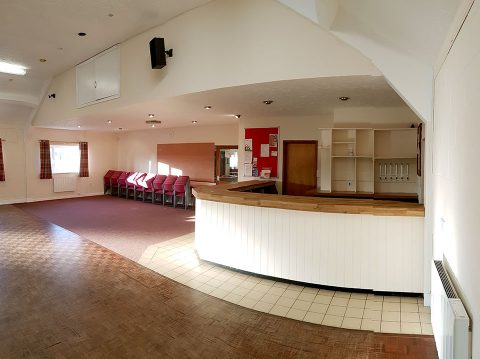 The Main Hall Bar, Briston Pavilion