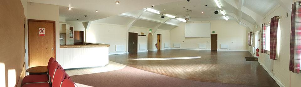 The Main Hall, Briston Pavilion